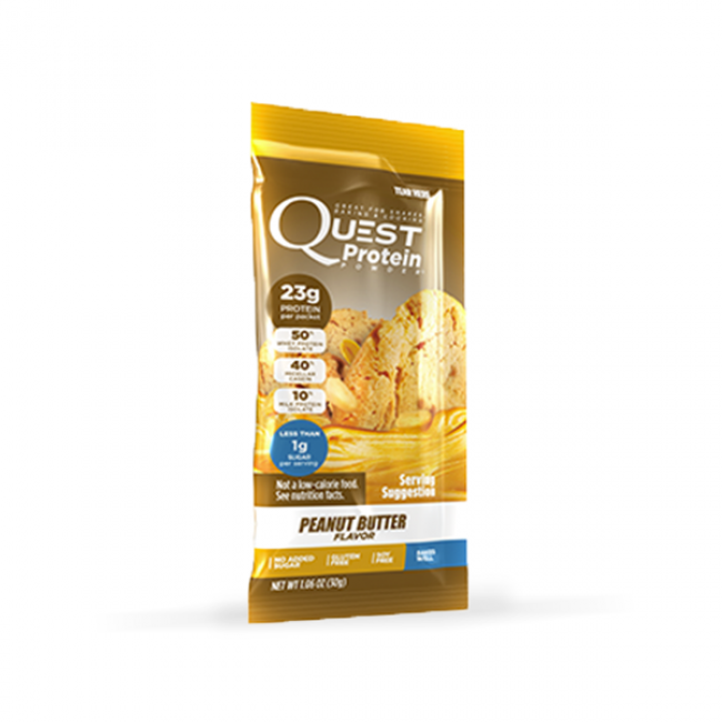 Quest Nutrition Protein Powder Packets | Bulu Box - Sample Superior Vitamins and Supplements
