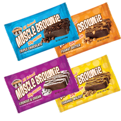 Muscle Brownie Nutrition Lenny Larry Muscle Brownies