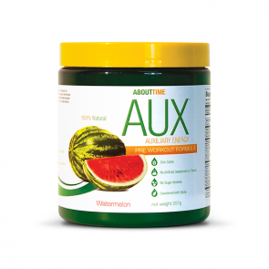 About Time AUX Pre Workout Energy Drink Watermelon | Bulu Box - sample superior vitamins and supplements
