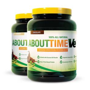 About Time Ve Vegan Protein | Bulu Box - sample superior vitamins and supplements