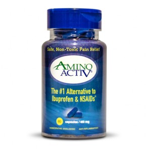 AminoActive Pain Relief Capsules | Bulu Box Sample Premium Vitamins and Supplements