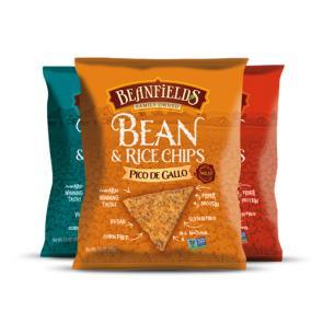 Beanfields Bean & Rice 1.5 oz Chips Pico de Gallo Nacho Sea Salt Pepper | Bulu Box - sample superior vitamins and supplements