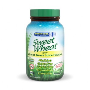 Brightcore Nutrition Sweet Wheat Capsules | Bulu Box - sample superior vitamins and supplements