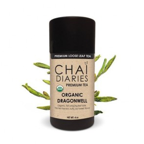 Chai Diaries Organic DragonWell Green Tea  | Bulu Box - Sample Superior Vitamins and Supplements