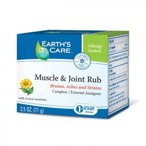Earth's Care Muscle & Joint Rub | Bulu Box - sample superior vitamins and supplements