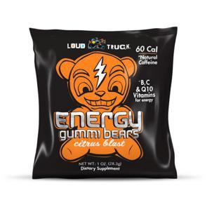 Loud Truck Energy Gummi Bears Citrus   Bulu Box - sample superior vitamins and supplements
