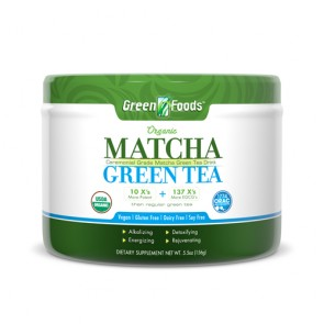 Green Foods Matcha Green Tea | Bulu Box - sample superior vitamins and supplements