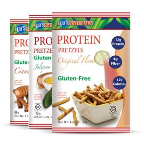 Kay's Naturals Gluten-Free Protein Pretzel Sticks | Bulu Box - sample superior vitamins and supplements