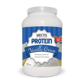 MIX'NS Vanilla Cream Protein | Bulu Box - sample superior vitamins and supplements