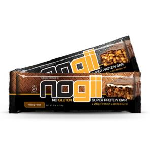 NoGii Super Protein Bars Chocolate Peanut Butter Caramel Crisp & Rocky Road | Bulu Box - sample superior vitamins and supplements
