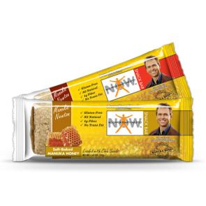 NOW Manuka Newton Snack Bar Honey & Strawberry Newton Bars | Bulu Box - sample superior vitamins and supplements
