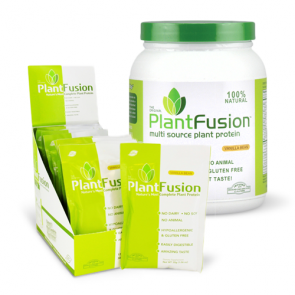 Plant Fusion Plant Protein Vanilla Bean Packets & 1LB Tub | Bulu Box - sample superior vitamins and supplements