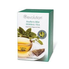 Revolution Tea Southern Mint Herbal Tea | Bulu Box - sample superior vitamins and supplements