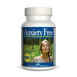RidgeCrest Herbals Anxiety Free | Bulu Box - sample superior vitamins and supplements