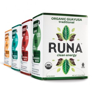 Runa Guayusa Tea Group Traditional Cinnamon Lemongrass Mint Citrus Ginger | Bulu Box - sample superior vitamins and supplements