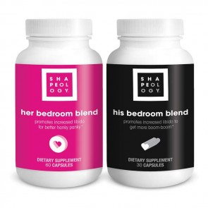Shapeology His & Her Bedroom Blend | Bulu Box Sample Superior Vitamins and Supplements
