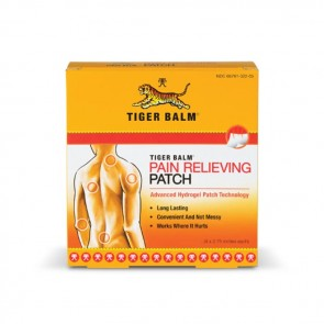 Tiger Balm Pain Relieving Patches | Bulu Box - sample superior vitamins and supplements