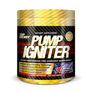 Top Secret Nutrition Pump Igniter | Bulu Box sample superior vitamins and supplements