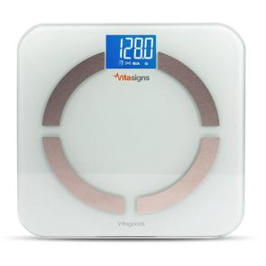 VitaSigns Digital Bluetooth Body Analyzer Scale- VS3200 Black | Bulu Box - sample superior vitamins and supplements