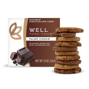 WellFood Double Chocolate Chip Paleo Cookie | Bulu Box - Sample Superior Vitamins and Supplements