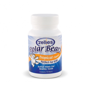 Zellies Xylitol Polar Bears - Tropical | Bulu Box - sample superior vitamins and supplements